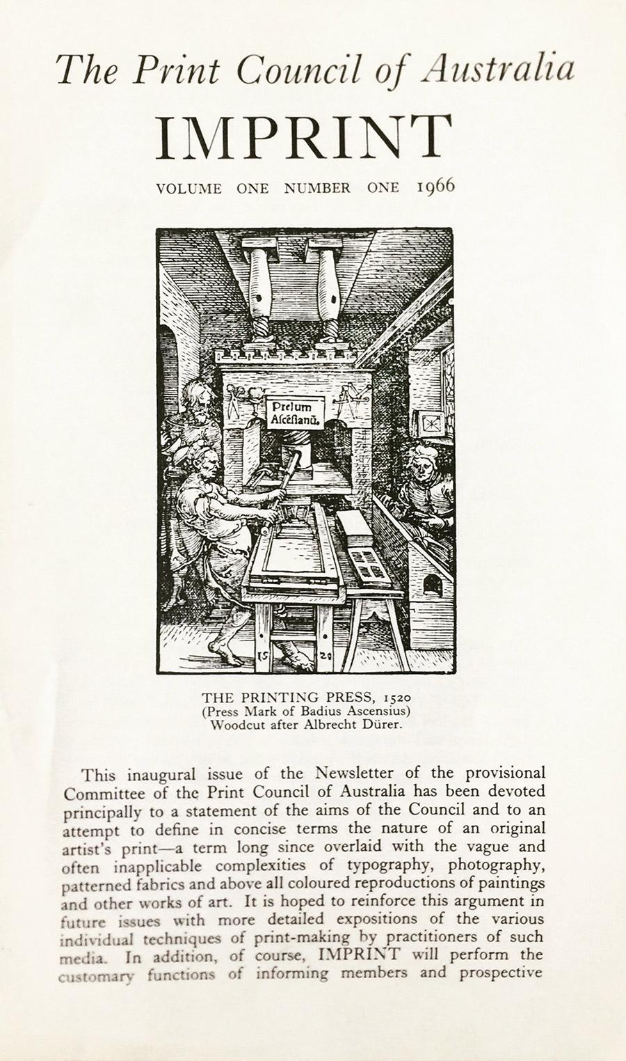 Imprint 1.1 1966